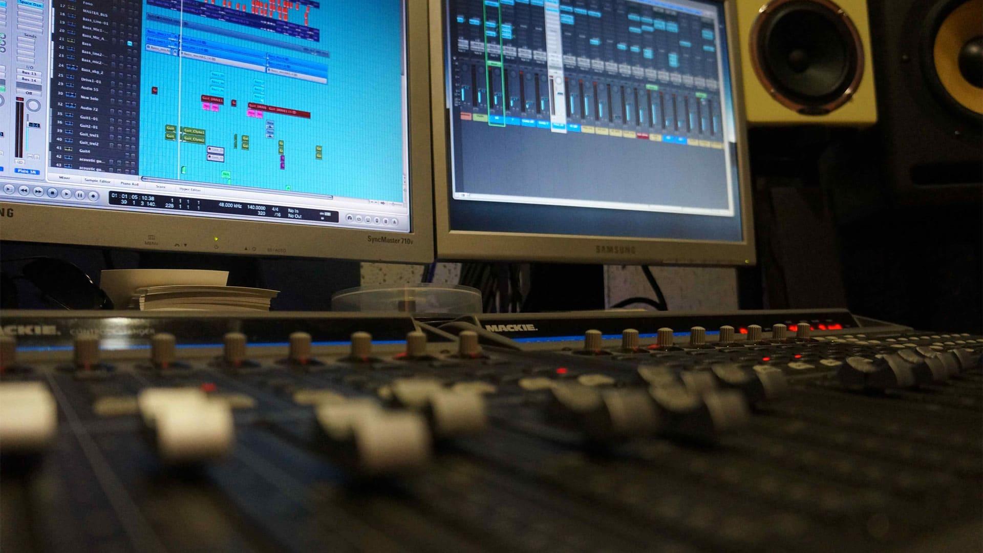 Контрольная комната. Студия звукозаписи Харьков. Driben Records.