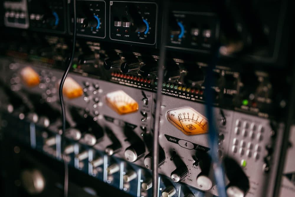 Рэк оборудования. Студия звукозаписи в Харькове. Driben Records.